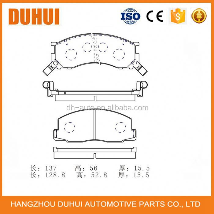 Disc Brake Pad Manufacturer FOR TOYOTA PREVIA 04465-YZZ65