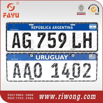 car plate, car plate for government