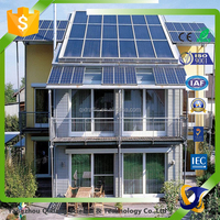 home used off grid solar energy system with solar panel battery