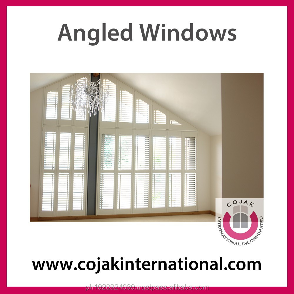 uPVC Angled Windows