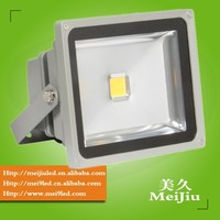 30W 80lm/w san'an chip 2400LM 120degree PF0.6 CRI75 IP65 AC85-265V Cool White 6000-6500K LED Floodlight