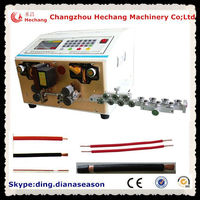 HC-515D automatic electric motor wire cutting machine colors wire stripping machine