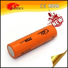 In Stock IMREN 18650 2250 mah 20A discharge rate 3.7v Voltage rechargeable battery