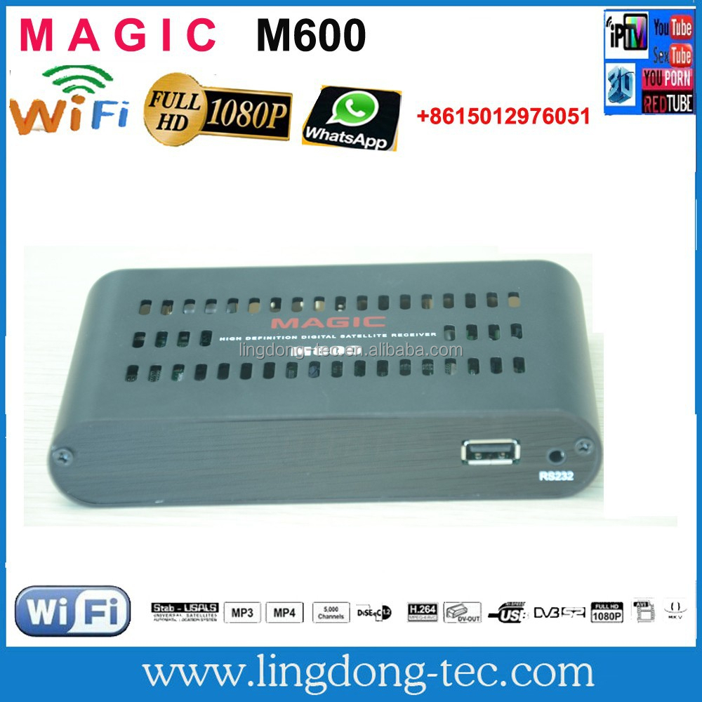 satellite internet reciver decoder and opening tool magic m600 frree iks for south america