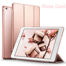 Premium Folio Case Cover Design Multi-Angle Viewing Stand Smart Cover Auto Sleep Wake Function For Apple iPad 9.7-inch 2017