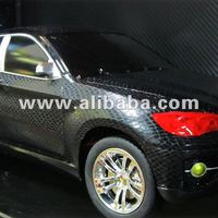 Newest Snake Skin 3D Car Vinyl Film With Air Bubble Free Black