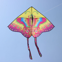 weifang classic cartoon printing butterfly kite