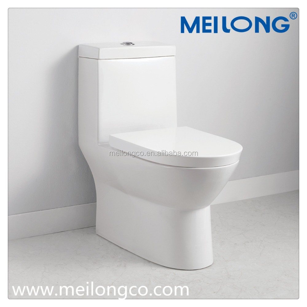 Bathroom Ceramic One piece Siphonic Jet Flushing toilet S trap Dual Flush high profile water saving sanitary ware eco-friendly