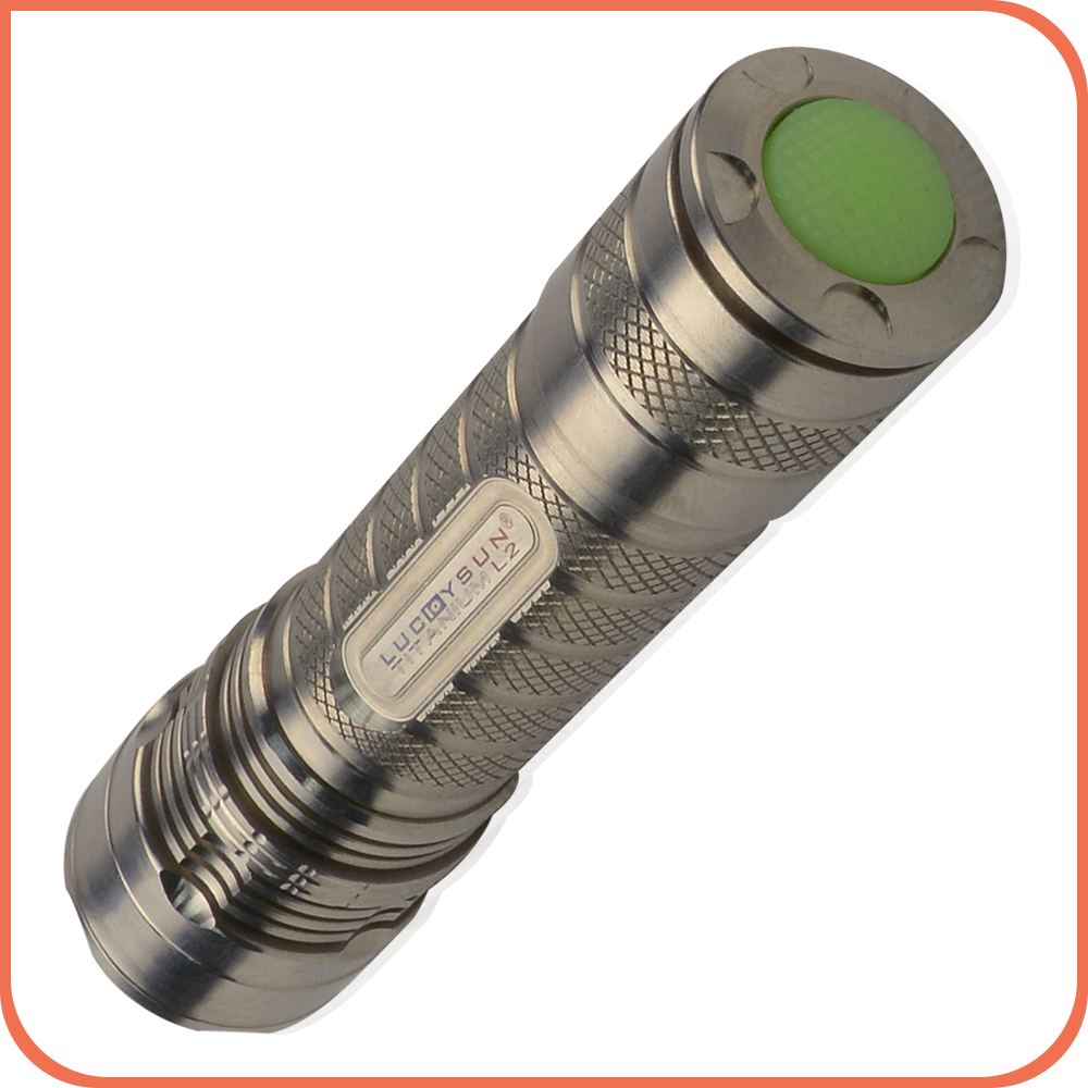 Top selling products in alibaba XML L2 edc Titanium Alloy LED Flashlight torch light