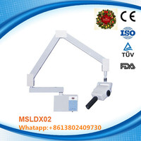 Advanced wall-mounted mobile dental x ray machine, dental x ray unit MSLDX02H