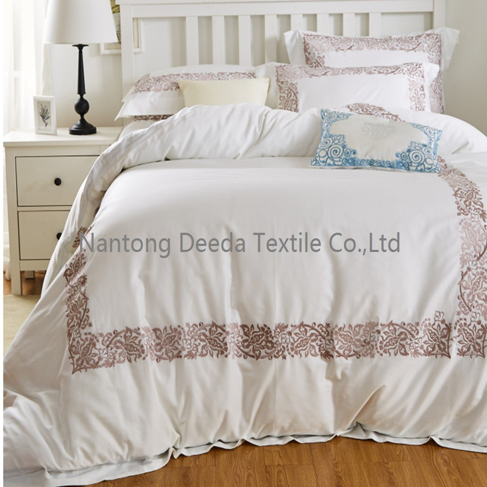 Mr Price Home Bedding 400t Luxury Embroidery White View