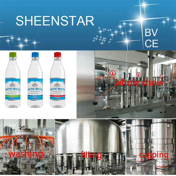 whole seller of automatic mineral water bottle filling plant