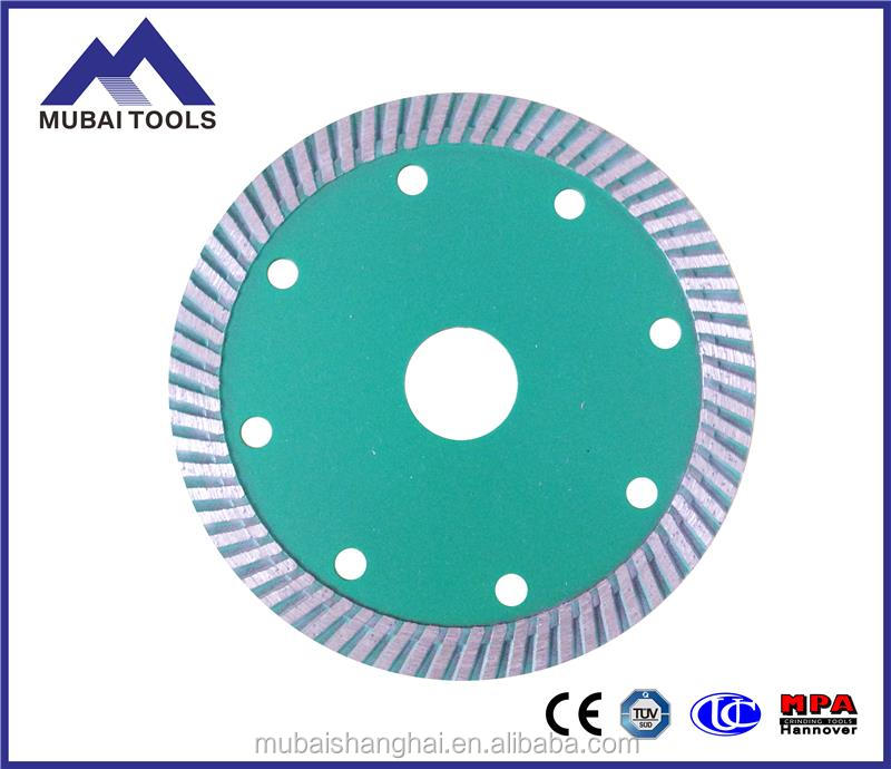 "hot sale stable 4"" 4.5"" 7"" thin granite tile wet/dry cutting diamond saw blade"
