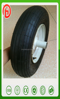wheelbarrow Tire 350-8/rubber wheel for trolley /Pneumatic wheels for wheel barrow