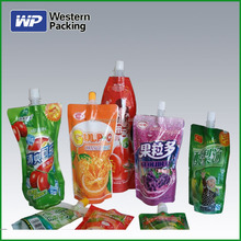 Printed packaging suction nozzle bags for packing