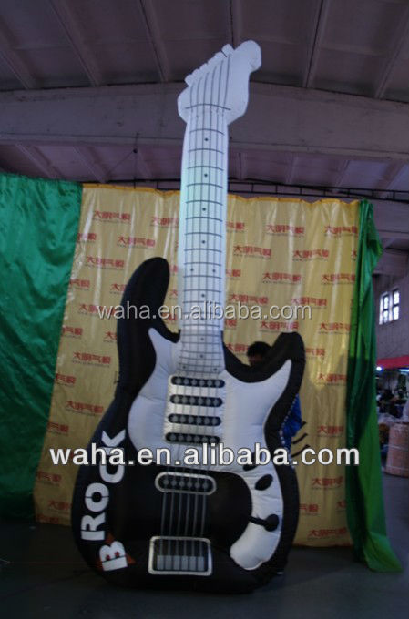 advertising inflatable Replicas guitar replicas event party decorations
