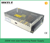 MS-200-12 200w small size ce switch power supplied high frequency switch mode power supply linear regulated power supply