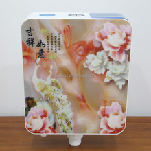 Plastic toilet flush tank and Printed toilet tank cover