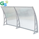 4X4 Outdoor Retractable Sunshade Polycarbonate Awning Bracket Canopy Awning For Carport