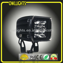 12w super brightness Motorcycle led off road driving light , LED work lamp for farm machine , LED driving flood light for truck