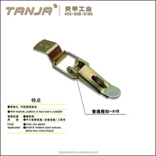 TANJA military toolbox latch,zinc-plated steel toggle latch for military box