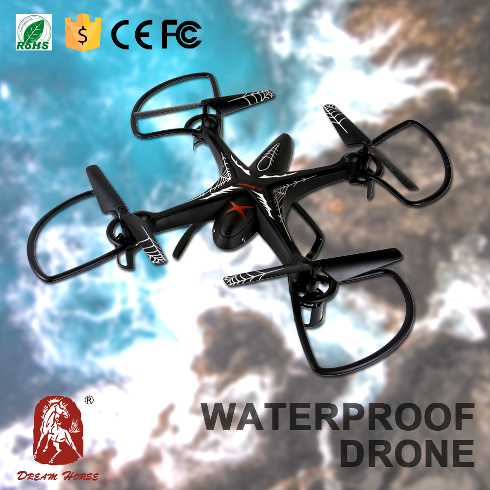 China factory import toys 2.4G waterproof 6-axis gyro rc quadcopter mariner/ splash mariner quadcopter drone