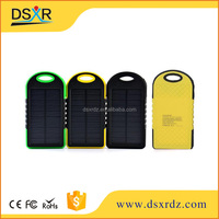portable solar battery charger 8000mah solar charger for smartphone
