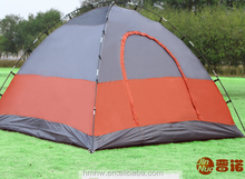 Outdoor 3-4 Person Fiberglass pole Camping/Hiking tent