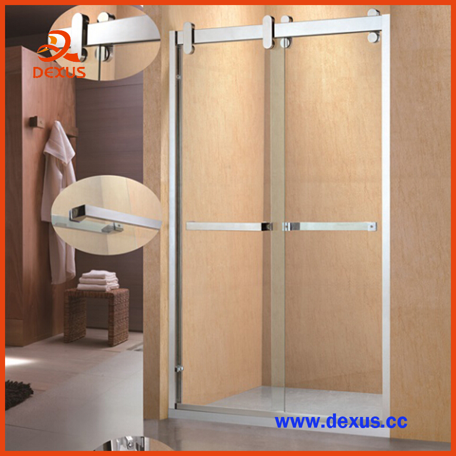 Wheels Sliding Glass Shower Room Shipping From China