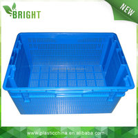 20KG plastic crate vegetable packaging box