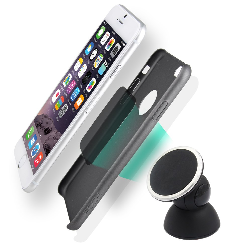 The Original Cradle-less Universal Magnet Car Phone Windshield Dashboard Mount Holder for iPhone 6 Plus Galaxy S6 S5
