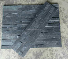 Best Price Natural Wall Cladding Black Slate Facade