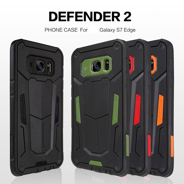Nillkin Defender II Series Combo Case for Samsung Galaxy S7 Edge G935, for Samsung Galaxy S7 Edge Case