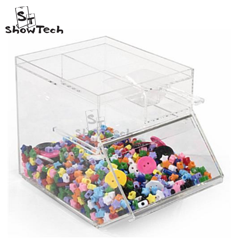 NEW clear acrylic candy dispenser / store acrylic candy box / candy container