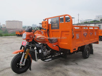 petrol powered cargo tricycle delivery water/gasoline motor tricycles/trimoto motorcycles