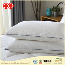 New Designed Home Hotel Plain Cover White Duck Down Decorative Pillow For Sleeping