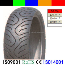High contain rubber scooter tyre / motorcycle part