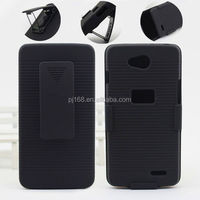 new product hard case holster kickstand belt clip case for Huawei CM980