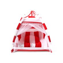 2017 Fashion warm pet tent bed indoor and outdoor dog houses