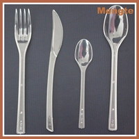 Heavy Weight Kids Disposable Plastic flateware cutlery set