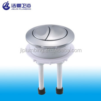 Replacement toilet water tank flush push button