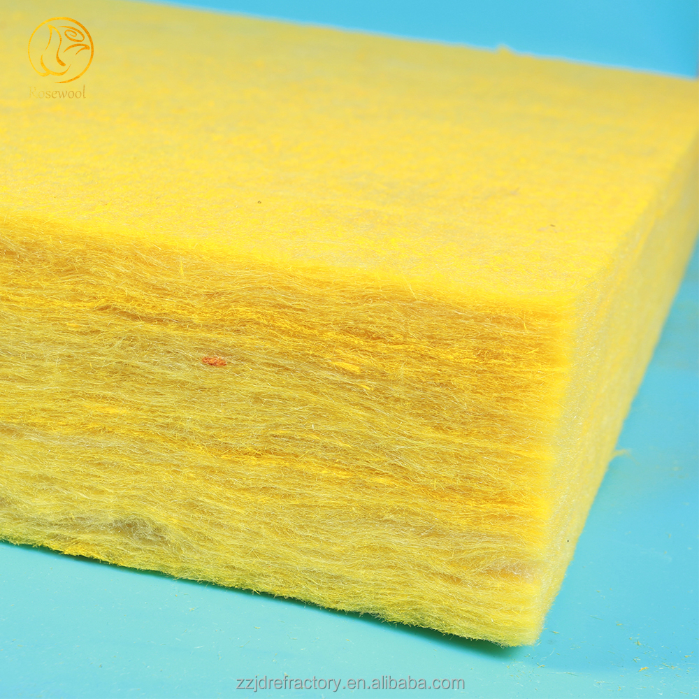 Heat Insulation glass wool sound absorption coefficient