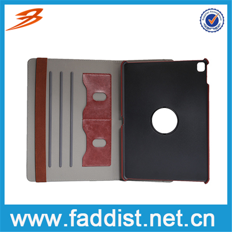 Two card slots design rotatable case for iPad Air 3 pad case
