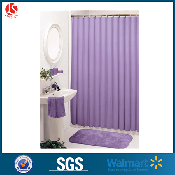 wholesale plastic modern european style shower curtain