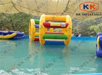 Durable commercial grade inflatable water park cylinder , inflatable hamster wheel