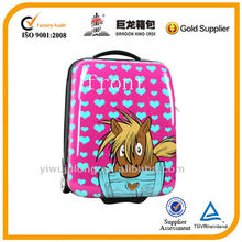 abs +pc trolley luggage/ school bag/ kids travel bag two wheels