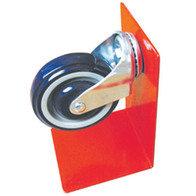 Hot Selling Supermarket Low Profile Casters and Wheels for Shopping Trolley