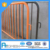 AEOMESH galvanized removable barrier / crowd control post / traffic facility fence