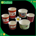 EBELEE food grade pe coated paper bowl