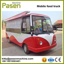Modern mobile food cart / mobile food truck for sale